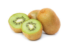 Fruta de quivi (dilecios do Actinidia) fotografia de stock