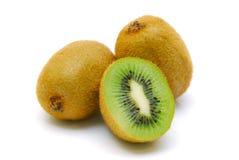 Fruta de quivi isolada Imagens de Stock