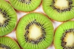 Fruta de quivi isolada no fundo branco Fotos de Stock