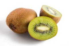 Fruta de quivi isolada no fundo branco Foto de Stock