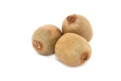 Fruta de quivi no branco Fotos de Stock