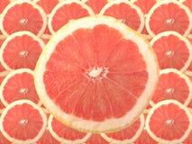 Fruta de rubíes de la uva roja Fotografía de archivo