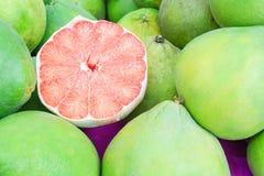 Fruta de rubíes del pomelo de Tailandia, Ruby de Tailandia Imagen de archivo libre de regalías