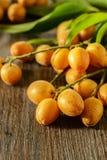 Fruta de Wampee imágenes de archivo libres de regalías