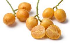 Fruta de Wampee fotos de archivo