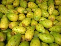 Fruta del cacto para la venta [atún] Foto de archivo libre de regalías