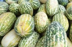 Fruta del cantalupo Imagen de archivo libre de regalías
