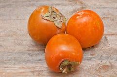 Fruta del caqui Fotografía de archivo libre de regalías