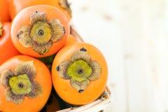 Fruta del caqui Foto de archivo libre de regalías