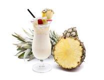 Fruta del colada de Piña Imagenes de archivo