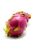 Fruta del dragón en el fondo blanco Imágenes de archivo libres de regalías