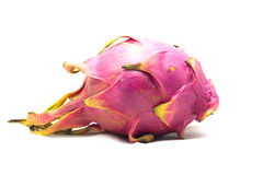 Fruta del dragón en el fondo blanco Foto de archivo libre de regalías