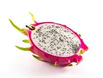 Fruta del dragón en el fondo blanco Foto de archivo