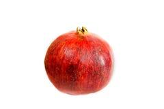 Fruta del granate aislada fotografía de archivo