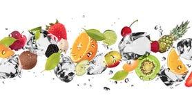 Fruta del hielo Imagen de archivo libre de regalías