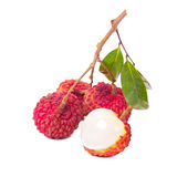 Fruta del lichí Imagen de archivo