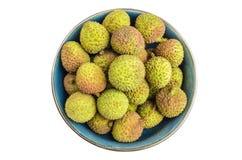 Fruta del lichi Imagen de archivo libre de regalías