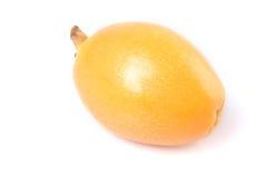 Fruta del Loquat Fotos de archivo