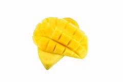 Fruta del mango aislada en el fondo blanco Fotografía de archivo