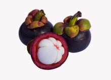 Fruta del mangostán Imagen de archivo libre de regalías