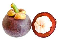Fruta del mangostán Imagen de archivo