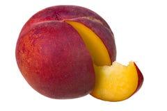 Fruta del melocotón Imagen de archivo libre de regalías