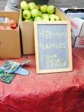 Fruta del mercado del granjero Fotografía de archivo