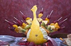 Fruta del pavo real Fotografía de archivo
