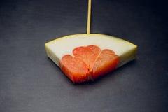 Fruta del pomelo de la fruta cítrica Fotografía de archivo