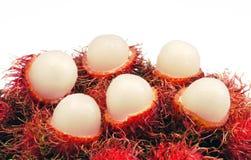 Fruta del primer rabutan Fotos de archivo libres de regalías