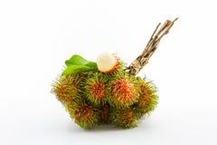 Fruta del Rambutan imágenes de archivo libres de regalías