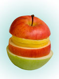 Fruta del segmento Imagenes de archivo