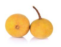Fruta del sentul de Freah en el fondo blanco Imágenes de archivo libres de regalías