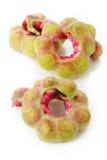 Fruta del tamarindo de Manila aislada en el fondo blanco Imágenes de archivo libres de regalías