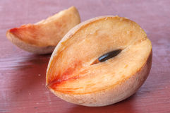 Fruta del zapote Fotos de archivo
