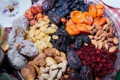 Fruta deshidratada Foto de archivo libre de regalías