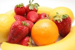 Fruta, dieta Imagens de Stock