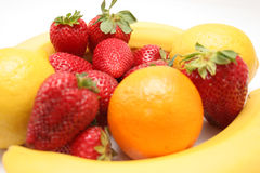 Fruta, dieta Imagenes de archivo