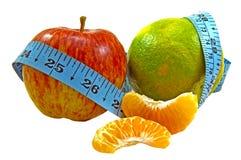 Fruta: A dieta saudável Fotografia de Stock
