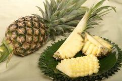 Fruta do abacaxi Imagens de Stock Royalty Free