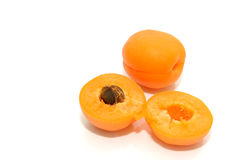 Fruta do alperce imagem de stock
