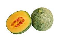 Fruta do Cantaloupe fotografia de stock