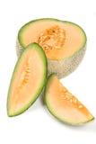 Fruta do Cantaloupe Fotos de Stock Royalty Free