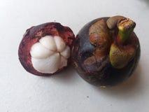 Fruta do mangustão imagens de stock royalty free