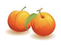 Fruta do pêssego Imagens de Stock
