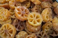 Fruta dulce de Bael, fondo de los marmelos de Aegle Fotografía de archivo