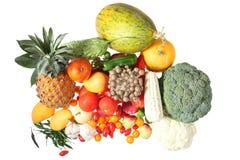Fruta e verdura Fotos de Stock