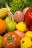 Fruta e verdura foto de stock