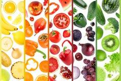 Fruta e verdura fresca foto de stock royalty free