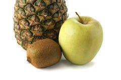 Fruta em um fundo branco Imagem de Stock